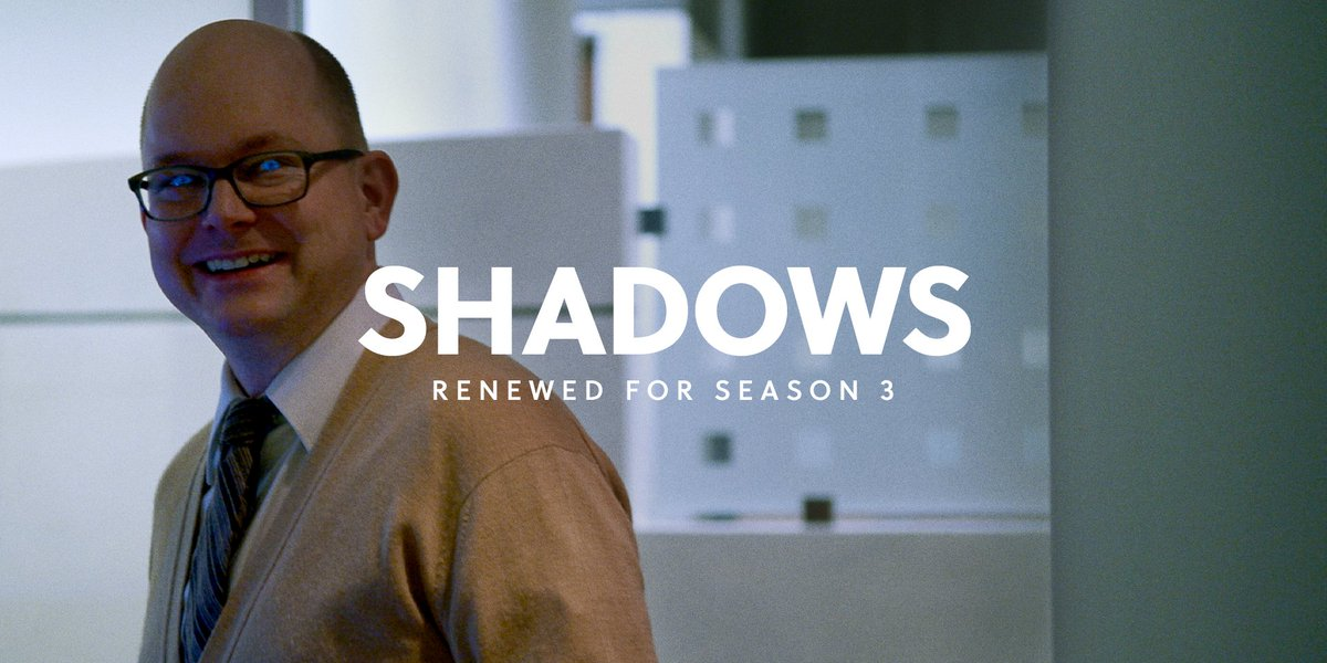thought we'd have colin robinson give off some good energy for a change: @theshadowsfx is back for season 3. https://t.co/AVI0fEMCAW