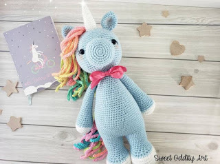 unicornio amigurumi patron gratis unicornio crochet paso a paso ...   238x320