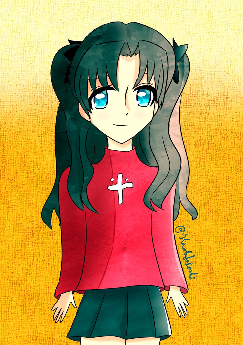 Hehe, I finished to redraw this cute Rin ! #art #dessin #fate_sn_animepic.twitter.com/QP7b1HsEcj