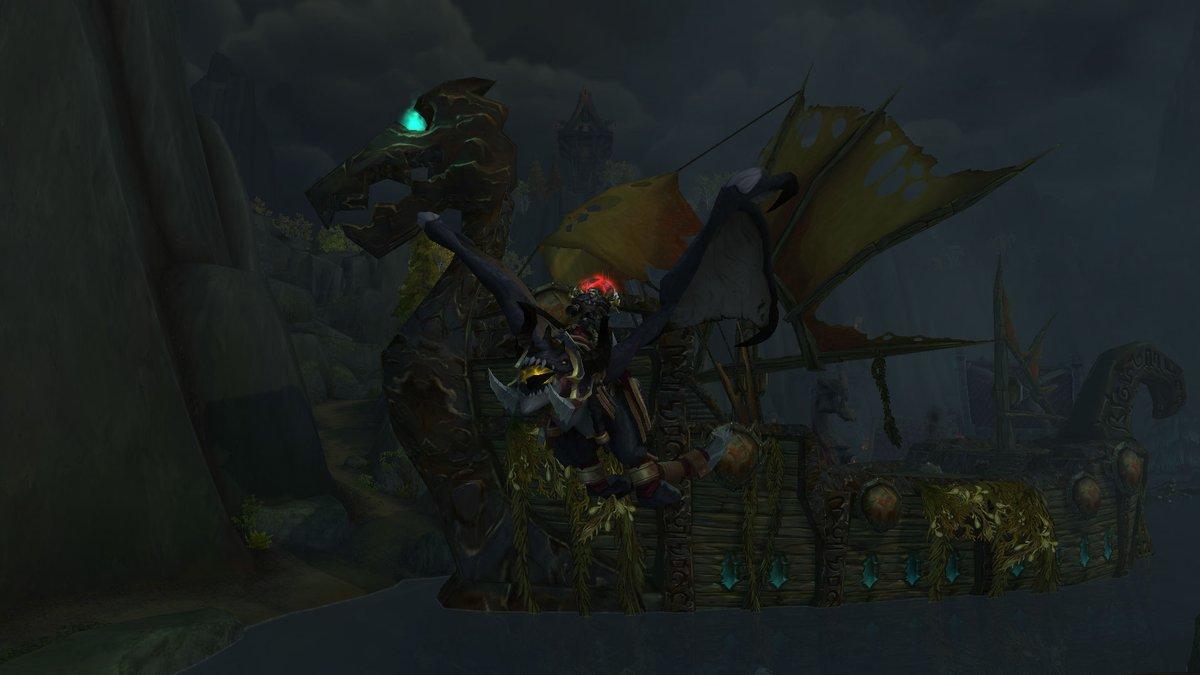 Warrior Order Hall mount!   #BedreSentEnnAldri #AllTheThings  @Warcraft<br>http://pic.twitter.com/GmG5tLbiZT