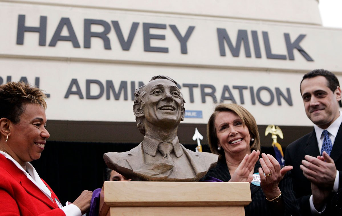 @RepBarbaraLee's photo on #HarveyMilkDay