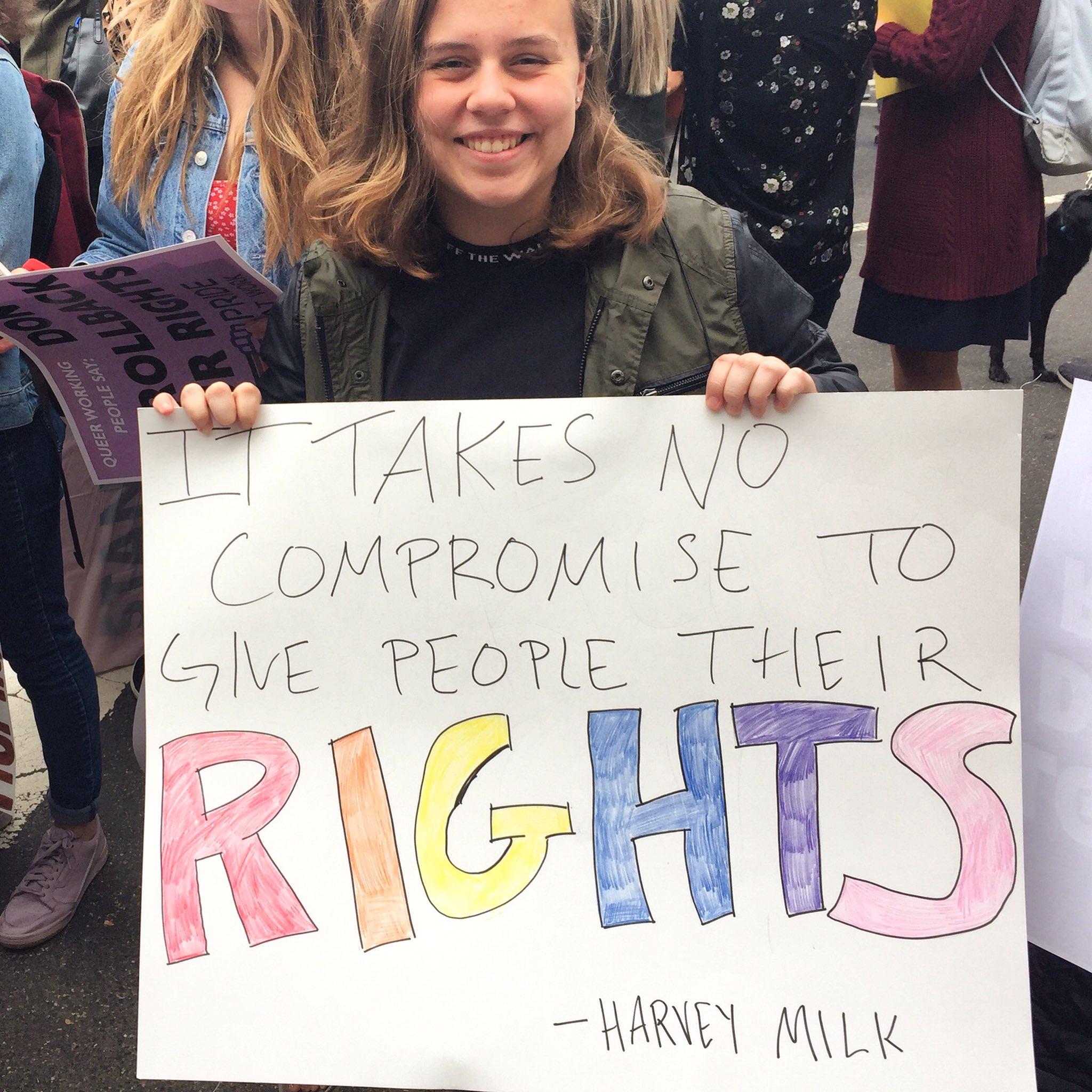 Happy birthday to Harvey Milk.