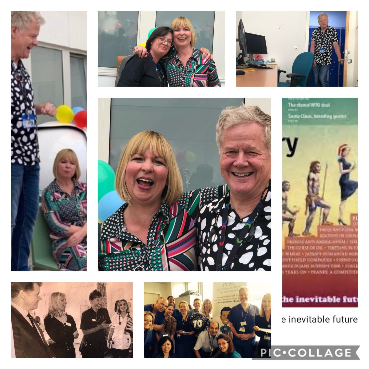 28 years of a matriarchy @chelwestICU reached an end @JaneMarieHamil1 😉 it is time to say goodbye but your memories will be kept in our memories for ever ! Now you are truly owner of your destiny . Thank you Jane Marie for such a fab work throughout the years 🏆🍀