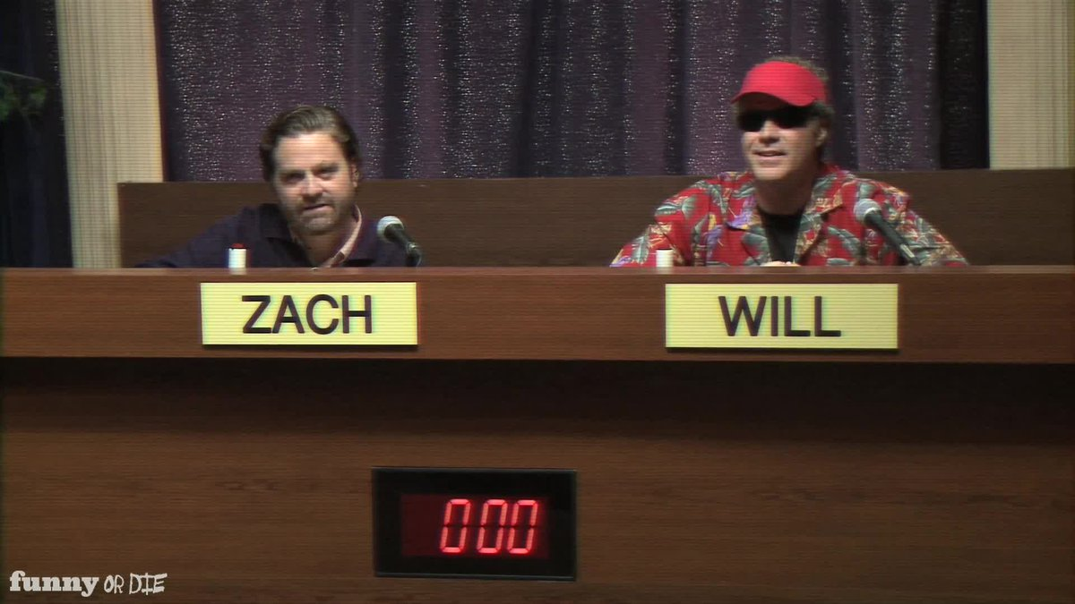 Will Ferrell & Zach Galifianakis have a moderated debate with three children. https://t.co/W4swD7oR7V