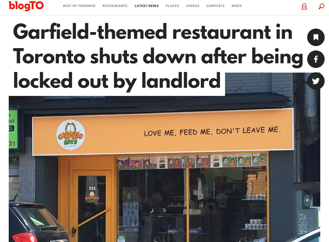 PLEASE keep the London location open, I really wanna visit GarfieldEats and review all the food once it's safe!!!pic.twitter.com/8WZPesT2dB