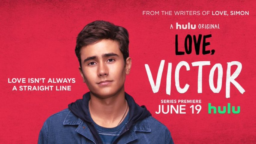 """DiscussingFilm على تويتر: """"A new poster for 'LOVE, VICTOR' has ..."""