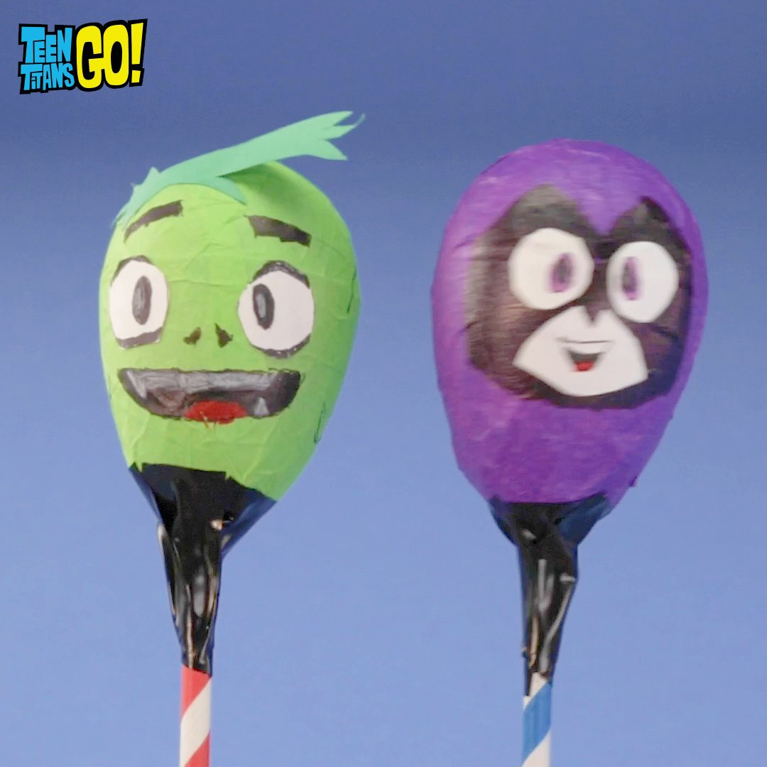 Shake it out with these super cute #TeenTitansGO themed maracas! 🎶 See the full tutorial on our YouTube cartn.co/TTGDIYMaracas  Check out more ways to stay creative at home 👉 cartn.co/CNCheckIn  #staycreative #cncheckin #cartoonnetwork