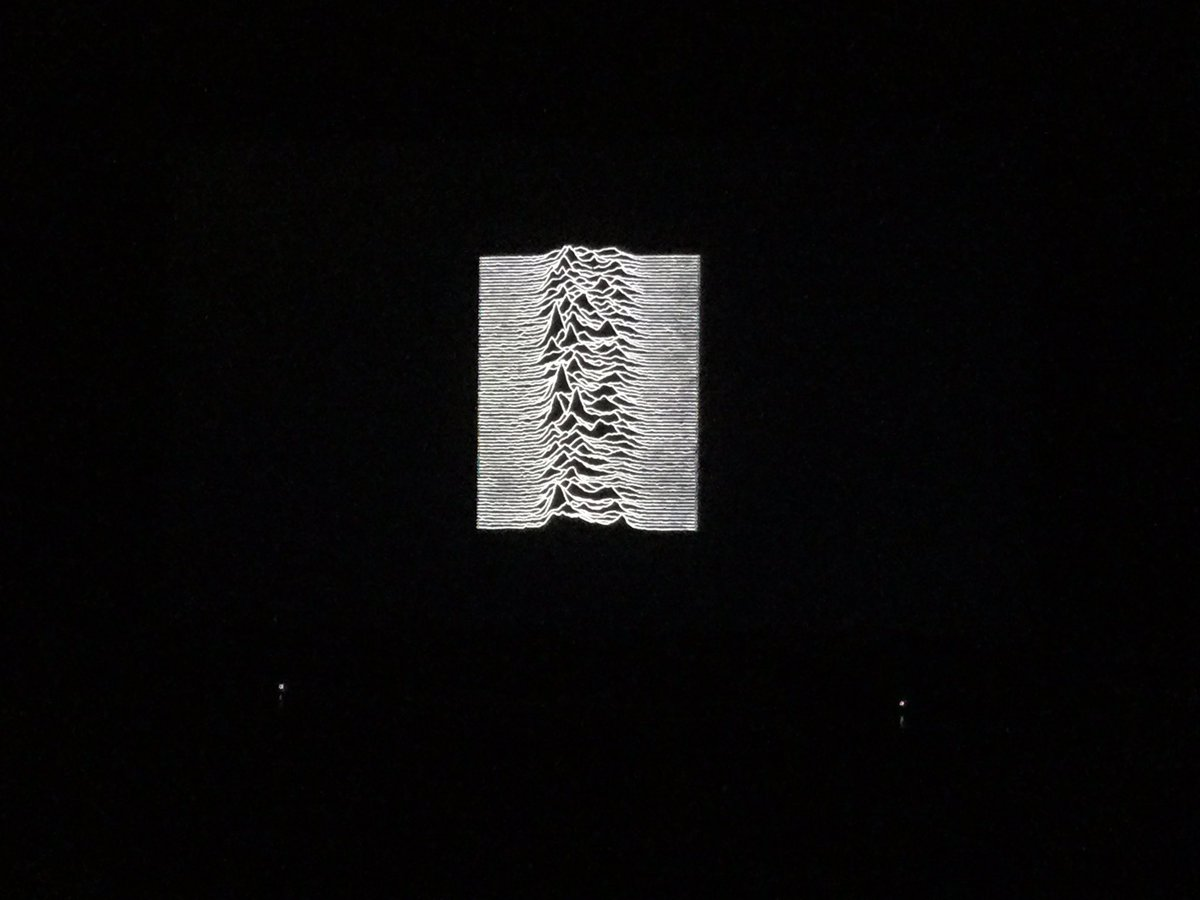 We were strangers, for way too long #TimsTwitterListeningParty  #UnknownPleasures pic.twitter.com/8Q1oPVm2Fo