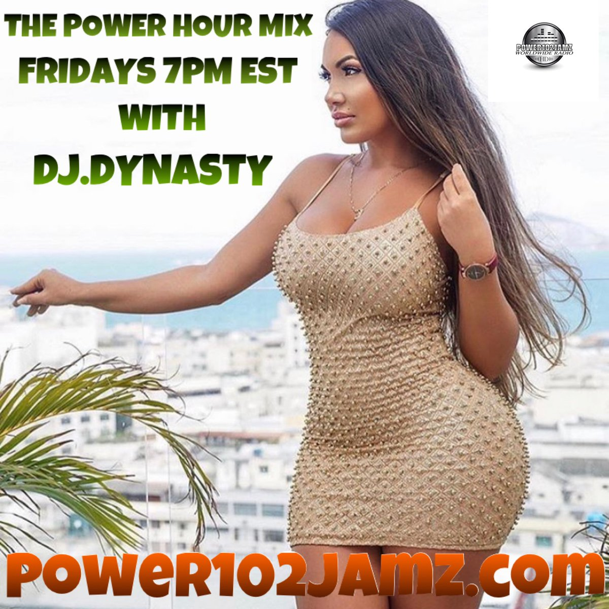 7pm est time it's show time tune in today download the Power102jamz app for free or just log on to https://t.co/N3PqhG1JSh https://t.co/lWSawVwbfz