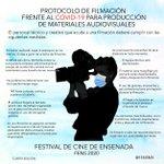 Image for the Tweet beginning: En el Festival de cine