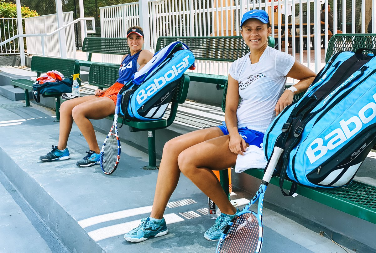 So happy to be #BackOnCourt! #BabolatFamily @babolat https://t.co/XvTTYsx226