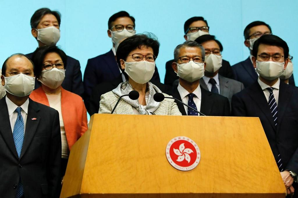 Hong Kong leader says national security legislation to improve business confidence: Xinhua https://t.co/qAE74Lqg0i https://t.co/BvqGuKBdPN
