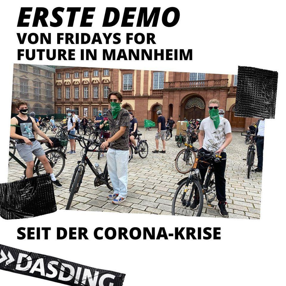 Tolle, kämpferische #Fahrraddemo gestern in #Mannheim mit 150 Aktivist*innen von @F4F_Mannheim sowie Genoss*innen von #ChangeForFuture & #EndeGelände. In belebten Vierteln gab's zudem gute Resonanz auf #InternationaleSolidarität & #Antikapitalismus!  https://www.swr.de/swraktuell/baden-wuerttemberg/mannheim/fridays-for-future-mannheim-mai-demo-100.html…pic.twitter.com/FqFzrFPWZq