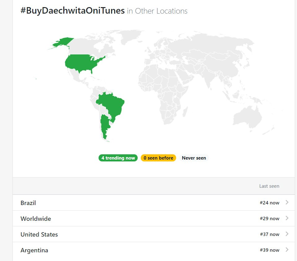 We are trending!! #BuyDaechwitaOniTunes @BTS_twt<br>http://pic.twitter.com/Bkr1IiRGbR