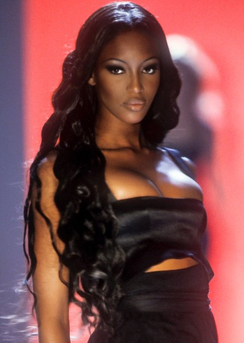 The God Naomi Campbell. Happy birthday