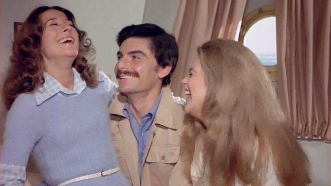 """Happy birthday to Richard Benjamin!!!  Here he is in \""""The Last of Sheila\"""" from 1973.  My mother loves this movie!!"""