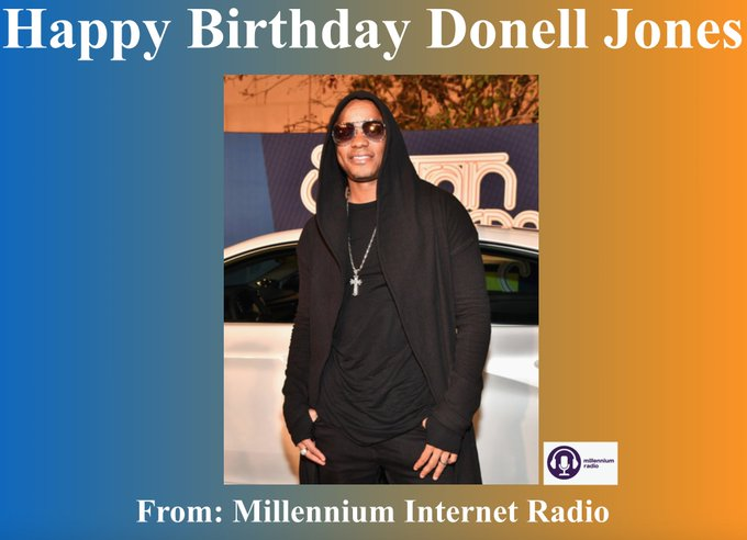 Happy Birthday to singer, songwriter, and record producer Donell Jones!!