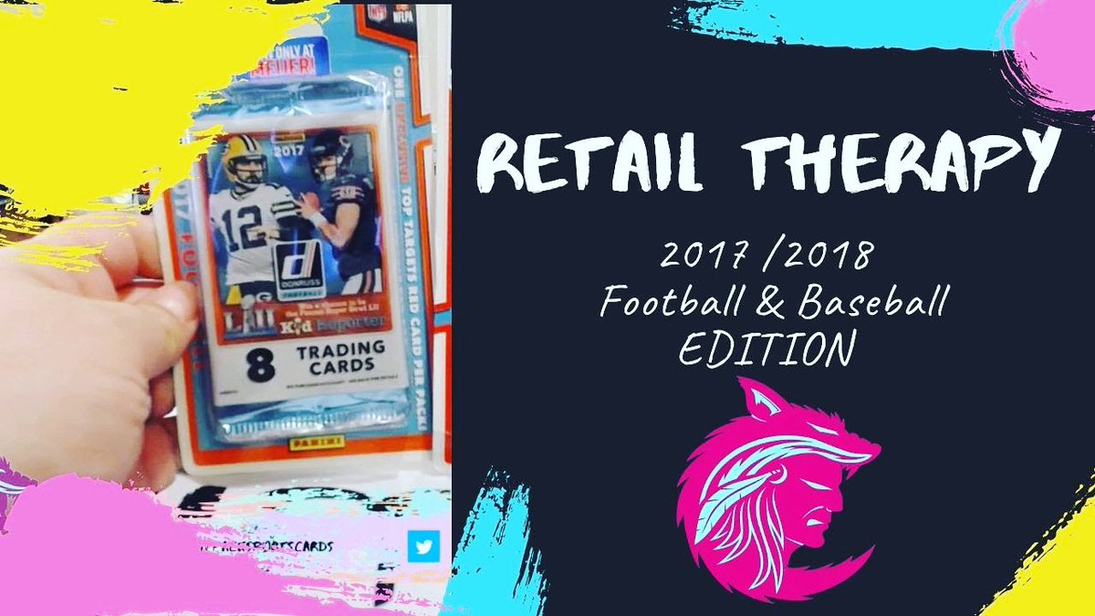 Happy TGIF Twitterverse! When you get bored this weekend check out our newest #YouTube video Retail Therapy! We chase #Mahomes and #acunajr in '17 & '18 sets!  #YouTuber #youtubechannel #WhoDoYouCollect #thehobby #sportscards #nfl #mlb #wokfpacksportscards https://youtu.be/U86Oz9TBuFM pic.twitter.com/6OCIOnYEI0