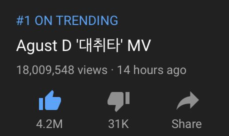 Daechwita mv reached 18 million views!!! Keep streaming and buy the track! #BuyDaechwitaOniTunes <br>http://pic.twitter.com/ebeeHtHSwm