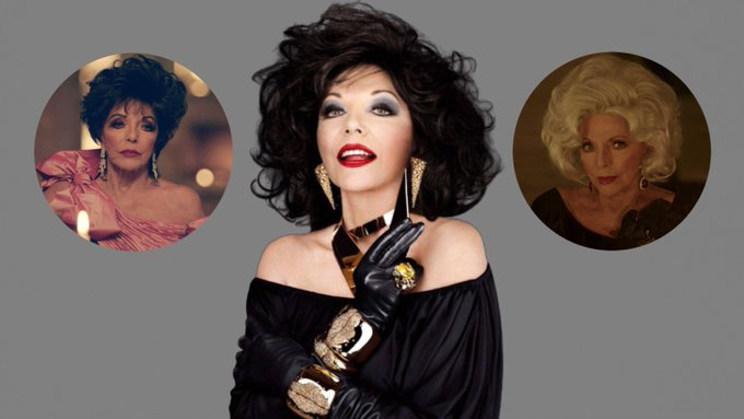 Happy Birthday to Joan Collins, who celebrates turning 87!