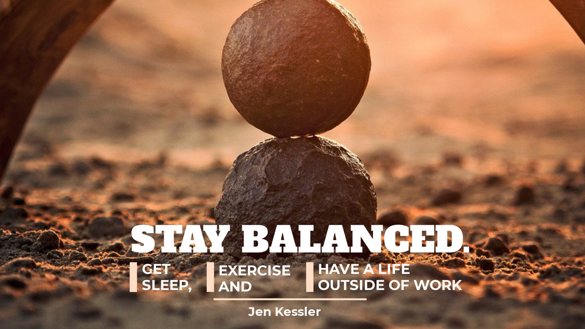 Balance is a feeling derived from being whole and complete; it's a sense of harmony. It is essential to maintaining quality in life and work. #staybalance #meditate #livinglife #cleanmindpic.twitter.com/AN1Jmx2Zu0
