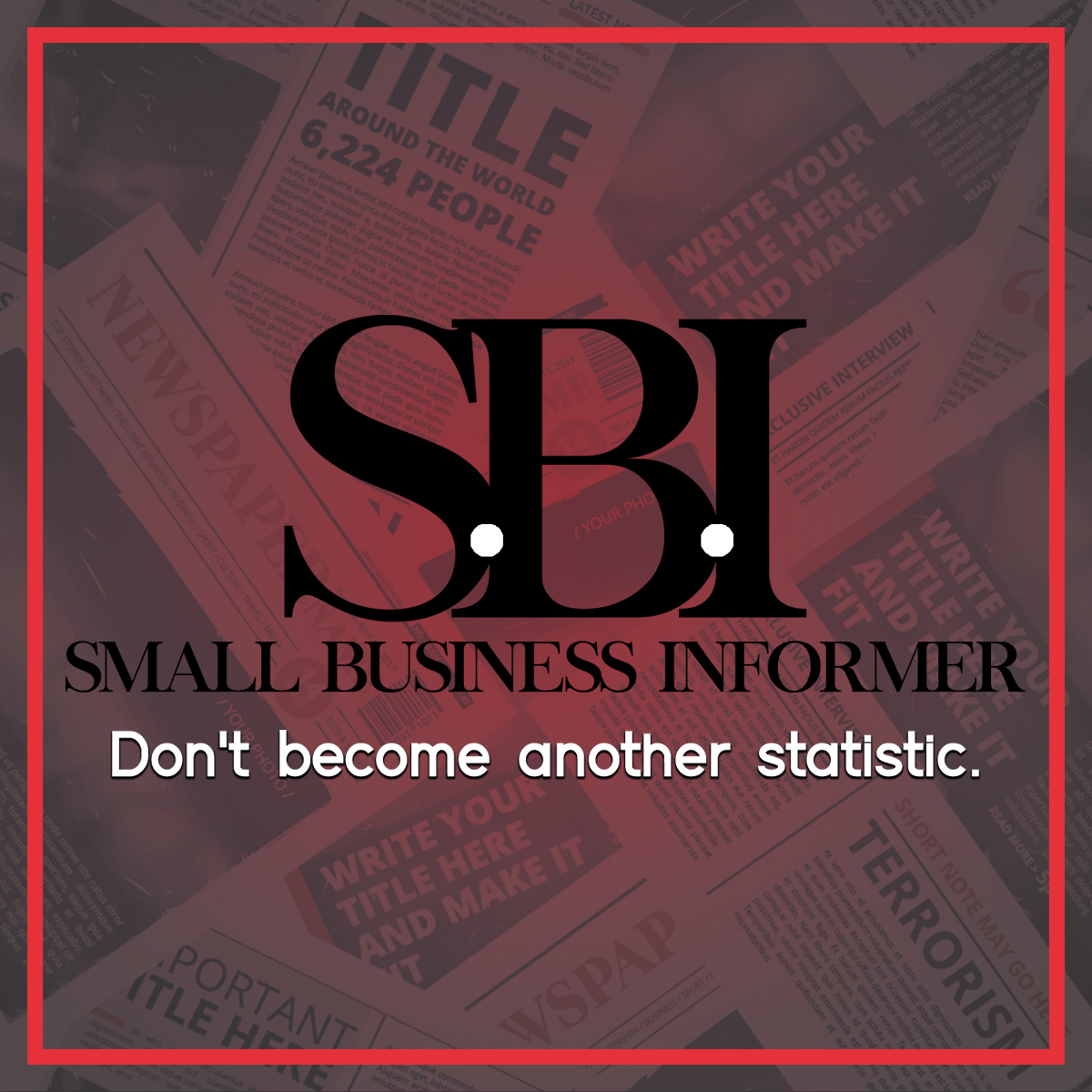 MISSION: To empower entrepreneurs worldwide on the many aspects of being a business owner. As well as motivate through honesty and the show of stats. >> http://sbi-stats.info  - #SBI #SBI_STATS #entrepreneurs #business #B2B #BYOB #beyourownbosspic.twitter.com/R8BqmJDIia