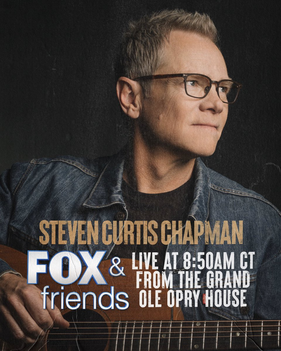"Looking forward to singing and sharing about my new song ""Together (We'll Get Through This)"" on @foxandfriends tomorrow morning as I go live from the Grand Ole @opry house at 8:50am CT! Be sure to tune in if ya can!"