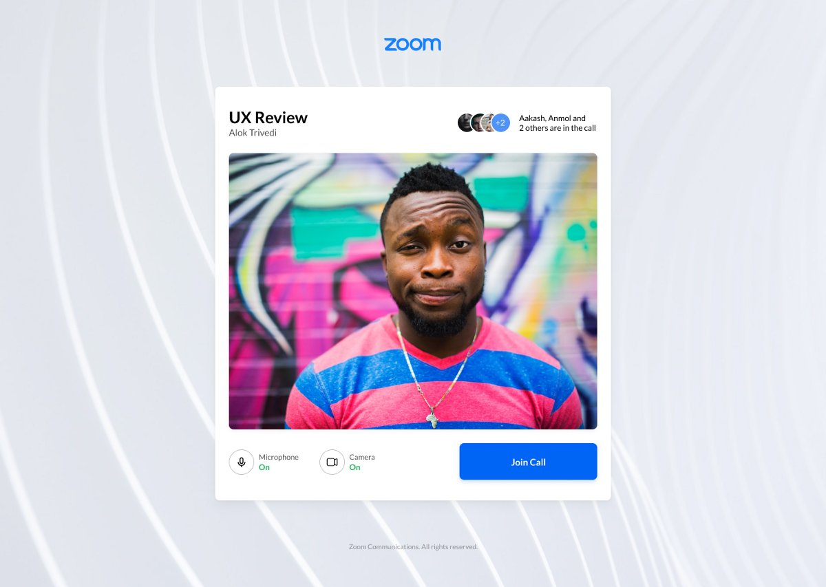 Redesigning the @zoom_us experience by Alok Trivedi in @uxdesigncc buff.ly/2WO71Zg