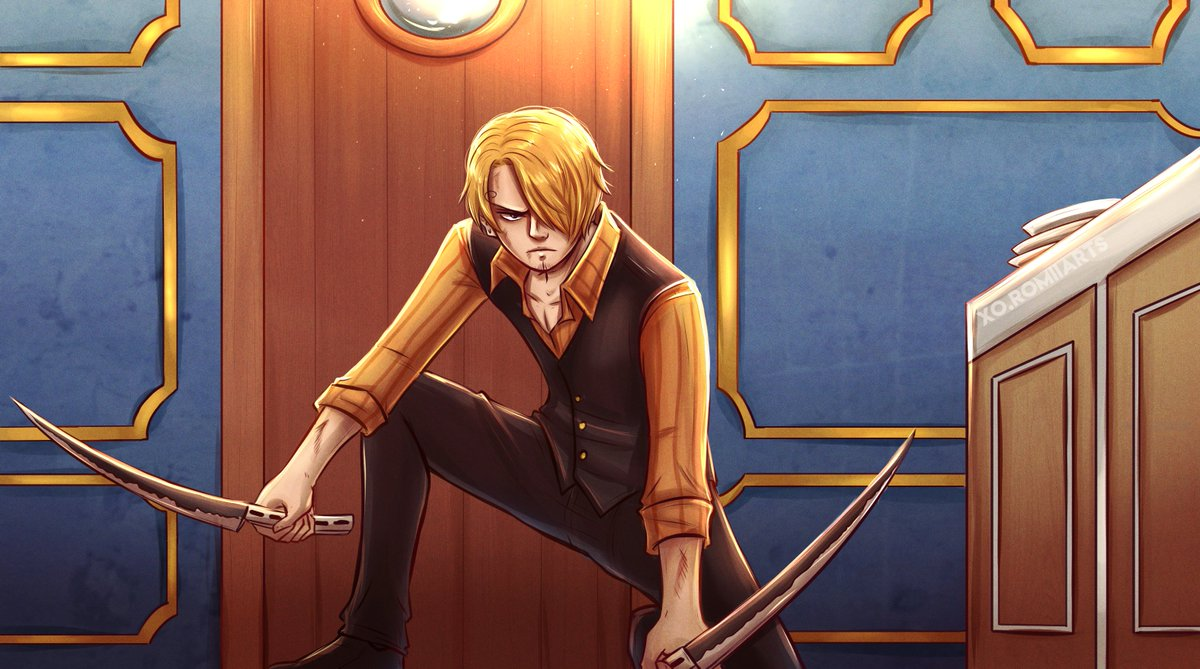 I heard redraws are in these days  A good time to remember this sea train Sanji   #OnePiece #onepieceredrawpic.twitter.com/uFG6k01wiy