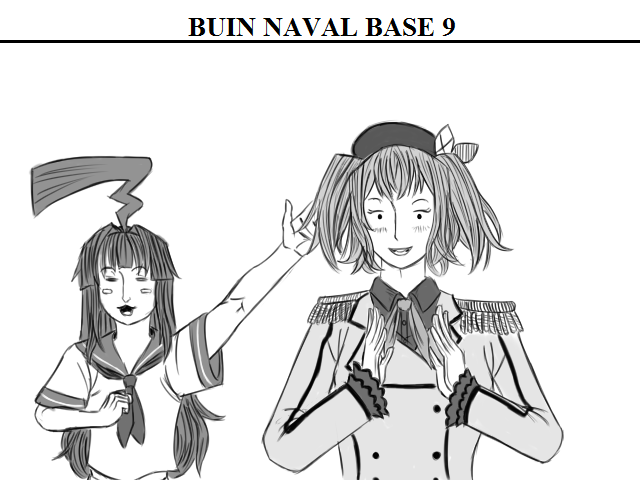 Buin Naval Base 9: Today Kashima's class: She brought one of the aces of the Buin Naval Base: Kuma, to an expedition for destroyers to know the faun surrounding the base. (75 min. 😖) #艦これ版深夜の真剣お絵描き60分一本勝負 #艦これ版真剣お絵描き60分一本勝負_20200522 https://t.co/AtlCno0aCP