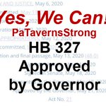 Image for the Tweet beginning: Yes, We Can! HB 327
