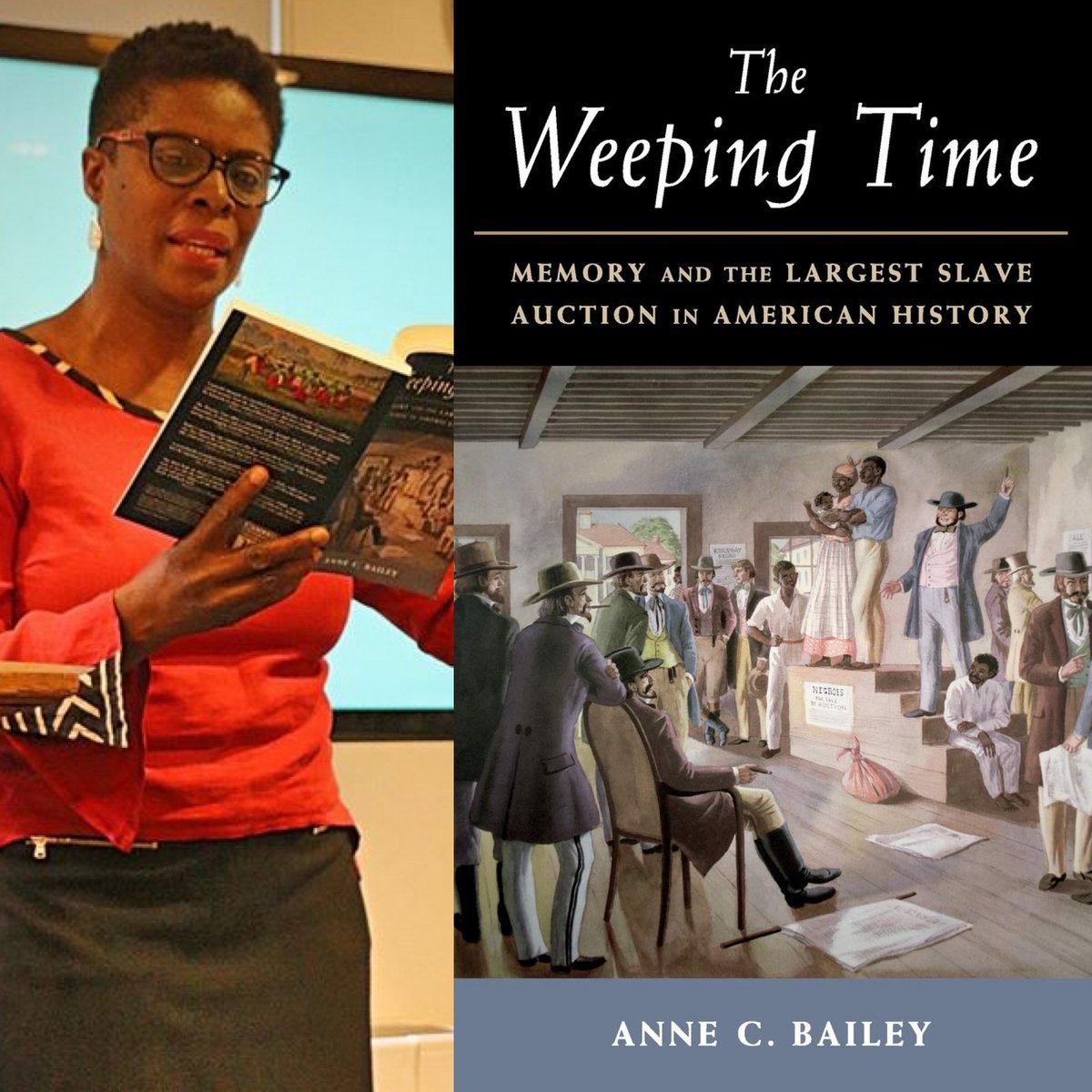 "#BOOK81 Anne C. Bailey's The Weeping Time: ""Whether it was Suriname or Jamaica, Antigua or Brazil, black-eyed peas and rice in various mutations was sumptuously prepared with African herbal seasonings and always salt pork or beef."" #slaveryarchive #WomenAlsoKnowHistorypic.twitter.com/7W7jy42Dil"