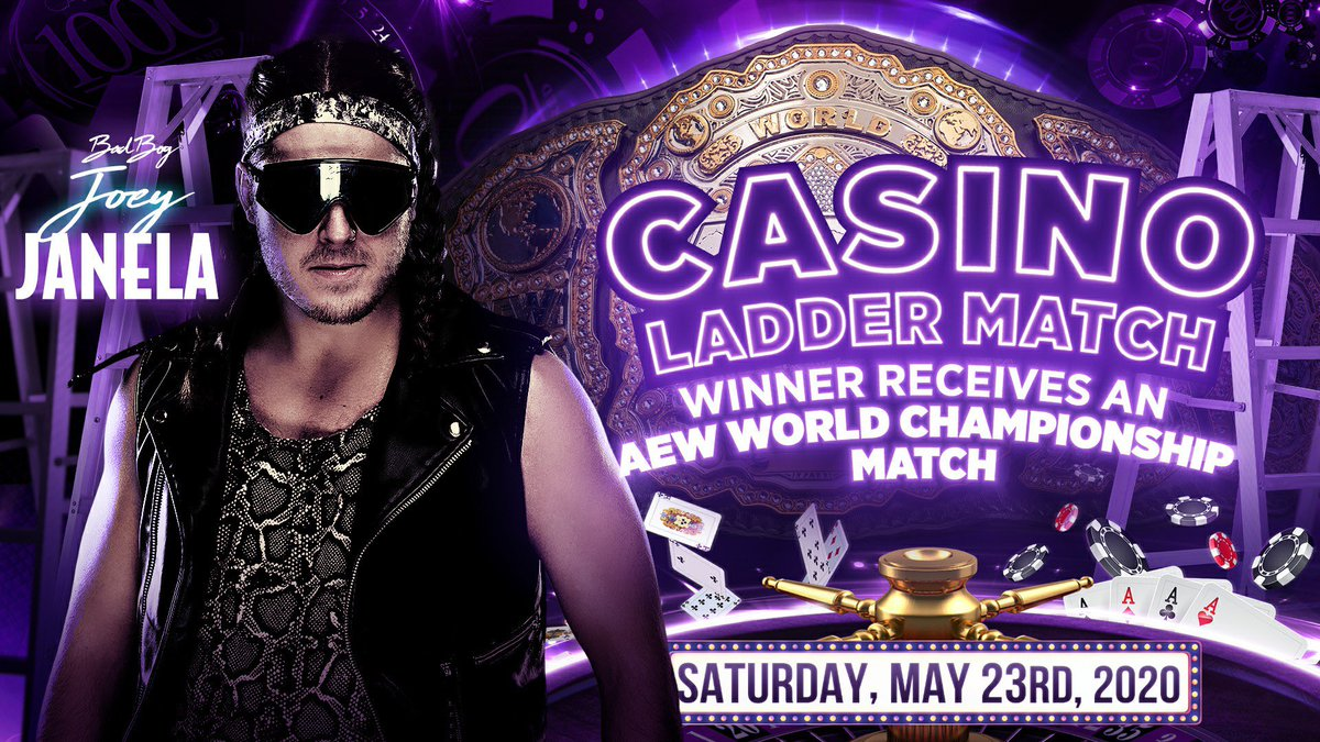 Rey Fenix Pulled From AEW Double Or Nothing, Joey Janela Added To Casino Ladder Match