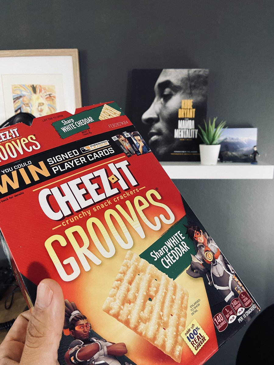 "Whoever it was that suggested the ""Grooves"" version of White Cheddar Cheez-Its (my favorite snack)...God bless."