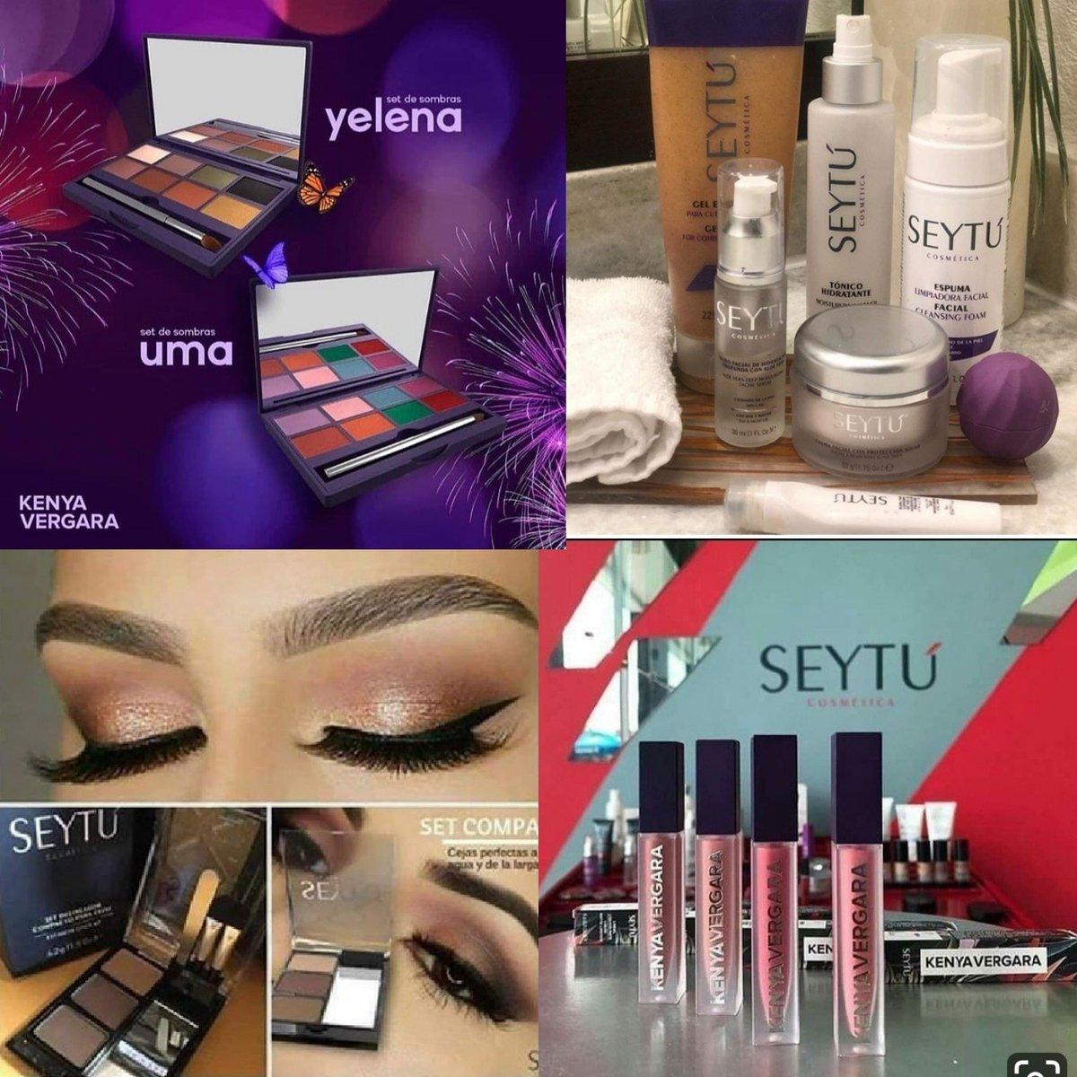 Resalta tu propia belleza con nuestra línea cosmética natural e hipoalergénica. Una vez q la pruebas no la podrás dejar  #seytú #cosmeticanatural pic.twitter.com/Gx1NyXgoPM