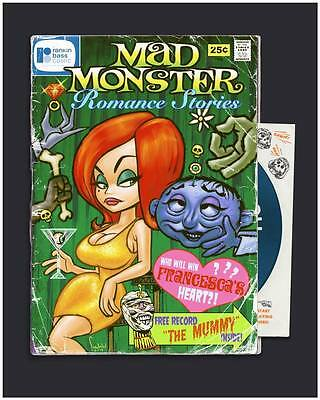 """Mad Monster Party comic book with """"the Mummy"""" record! #MadMonsterParty #TCMParty<br>http://pic.twitter.com/DyT2z6mFjs"""