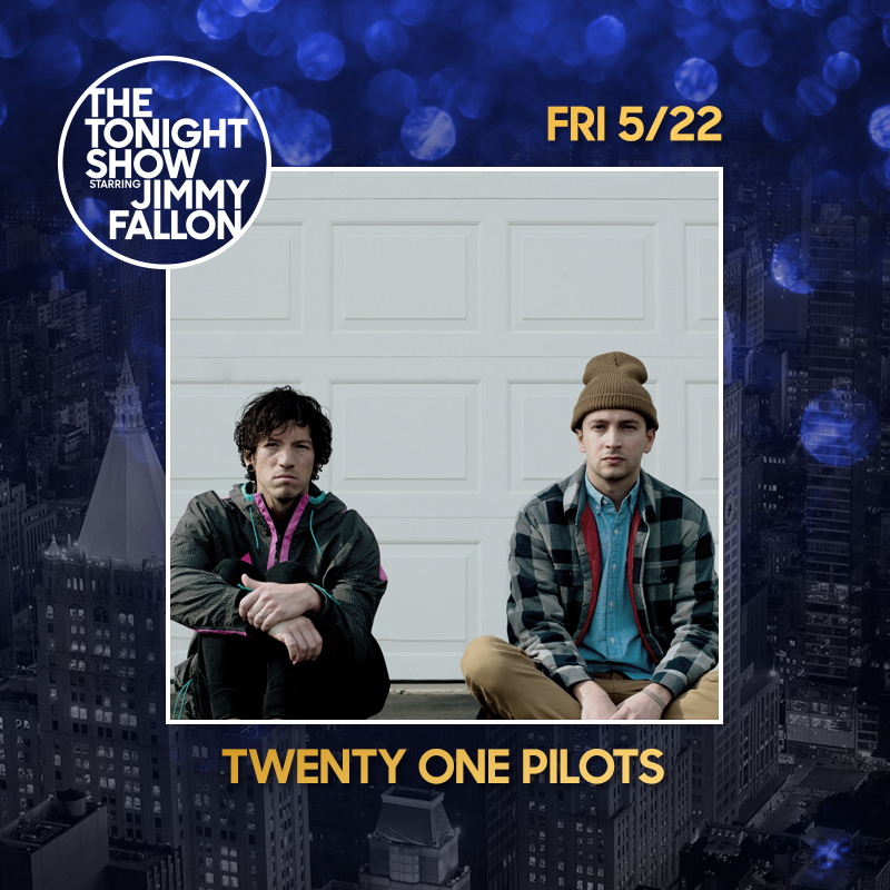 just to remind you, the band twenty one pilots is doing a captivating performance of their song Level of Concern with a few special friends on @FallonTonight this evening at 11:35/10:35c https://t.co/tzlc9HY2Rw
