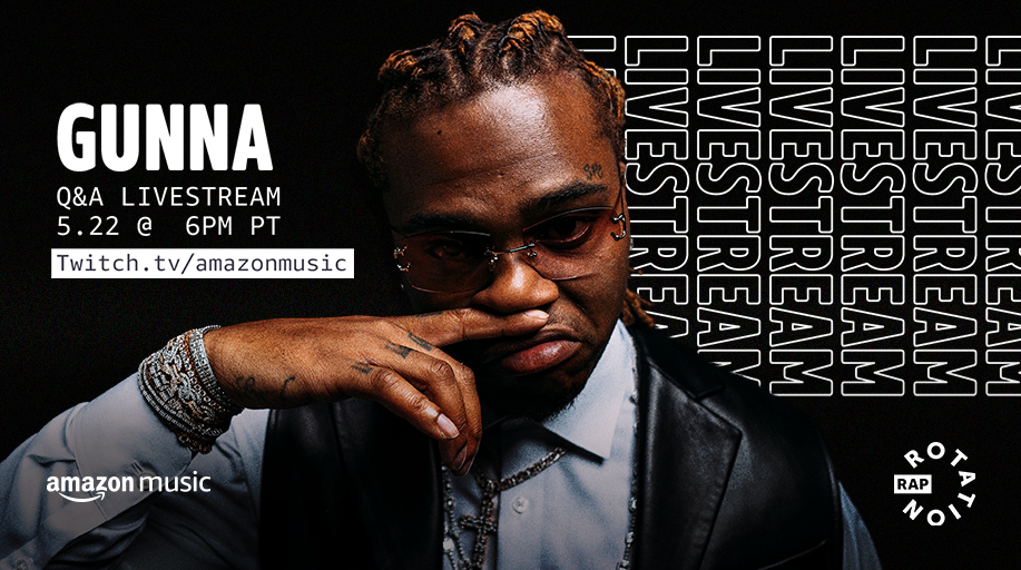 NOW LIVE! Watch @1GunnaGunna talk about his new album #Wunna on our Twitch channel: twitch.tv/amazonmusic