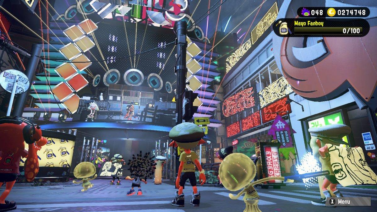 3 years later... finally back in town! #Splatoon2 #Splatfest #NintendoSwitch
