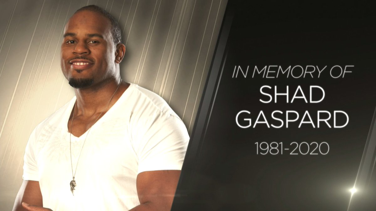 #RIPShadGaspard 🙏 https://t.co/P16bE5IKOf