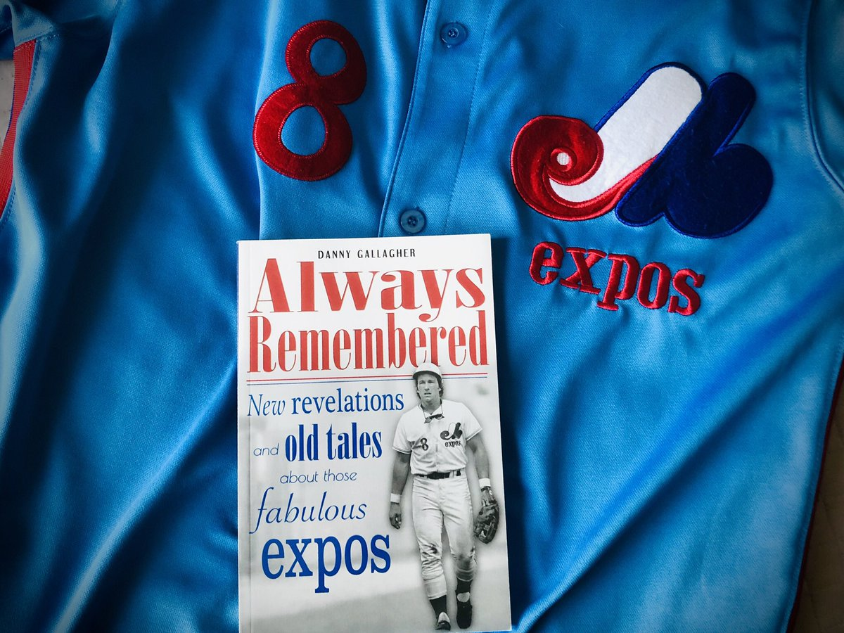 Highly recommend this book  !!!  @dannogallagher7 #Expos #Montreal #ScoopPresspic.twitter.com/wVWbkkqZpx