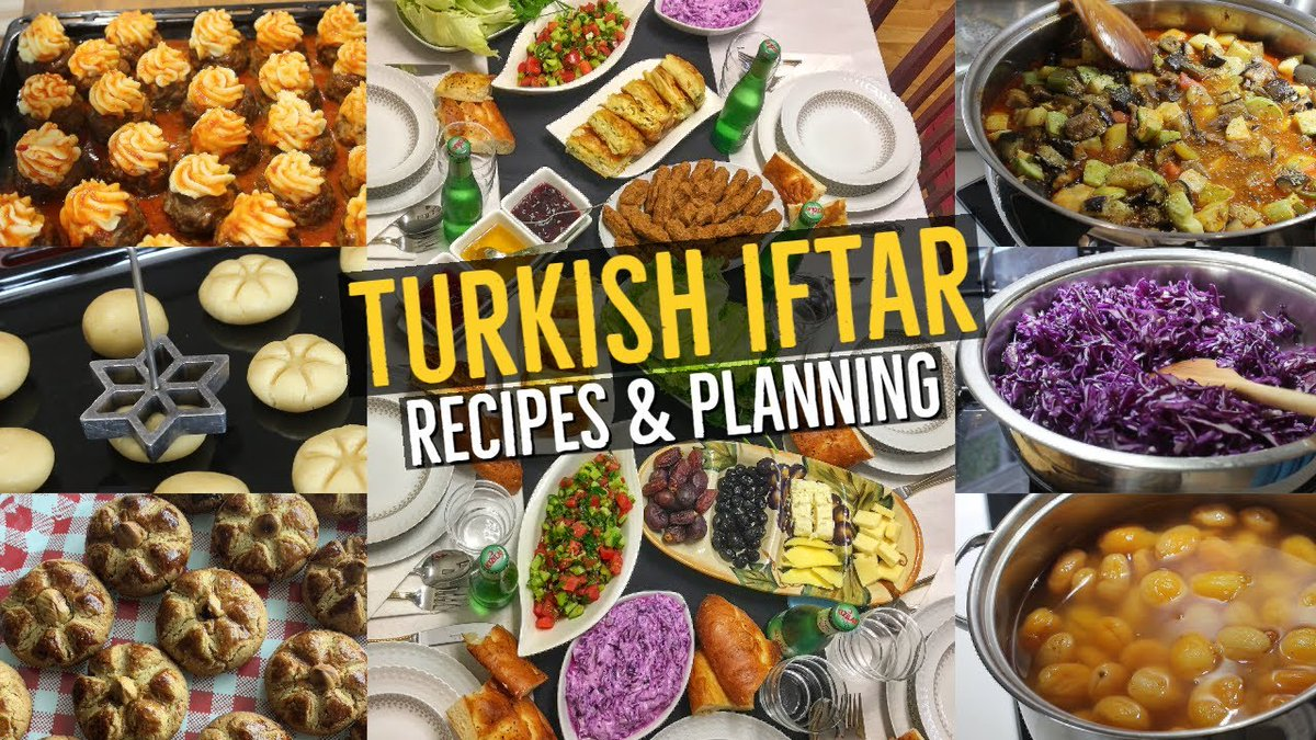 Here's another great video from #Aysenur - this time, she shows us how to make a complete Turkish #iftar meal. It all looks wonderful, doesn't it? https://t.co/FeuCTUuEOZ https://t.co/MMOa2y6h9v