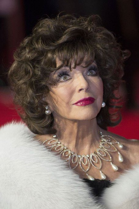 Happy 87th birthday to Joan Collins To me she will always be Alexis from Dynasty!