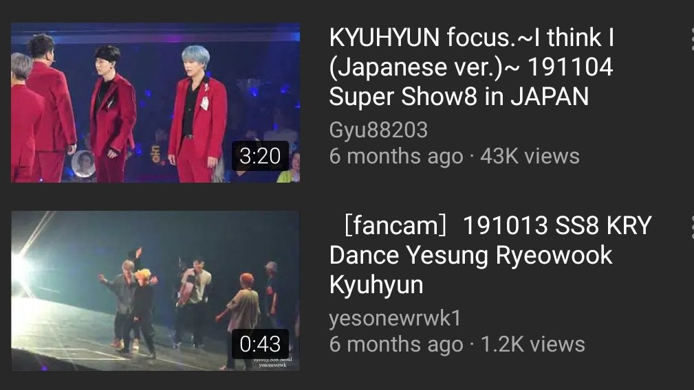 Fairly standard formatting for this in Kpop fandom would be 'YYMMDD [Member Name] focus - [Song/event name, name of concert/location etc.]' - examples below: