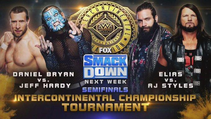 En el próximo Friday Night SmackDown se vienen las semis por el IC.