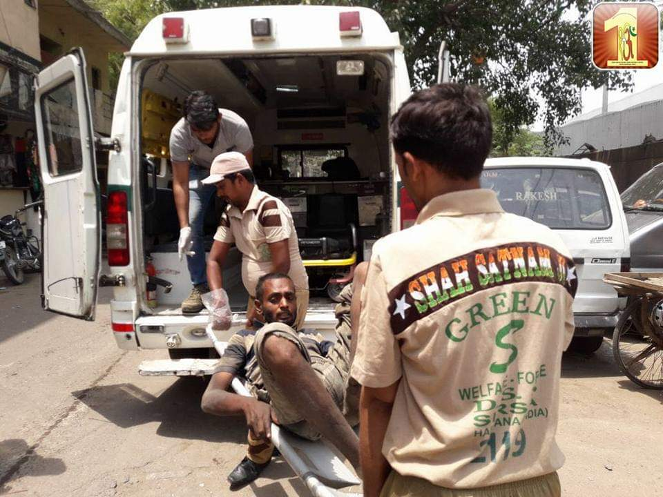 One of the 134 humanitarian works led by Saint Dr. @GurmeetRamRahim Singh Ji Insan of @DeraSachaSauda is integration of physically or mentally challenged people into the mainstream society by providing medical & emotional help to them. #सच्ची_इंसानियतpic.twitter.com/yfylklndte