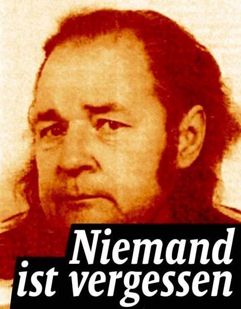 23.05.00, Berlin-Pankow: Dieter Eich wird von vier rechten Jugendlichen, die einen Asi klatschen wollen, in seiner Wohnung erstochen. #KeinVergessen antifa-nordost.org/8489/pankow-bu…