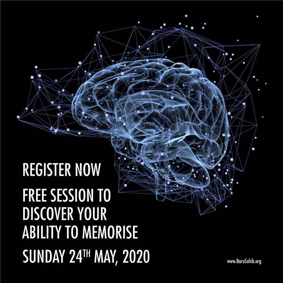"""#MustAttend  Discover Your ability to MEMORISE  A Live Session On """"Memory Techniques"""" by S. Joginder Singh  On Sunday, 24th May, 2020  between 4 PM to 5:30 PM IST (GMT +5:30)  Platform : ZOOM  https://t.co/KWo0f8gcvG https://t.co/iBIqfekkxs"""