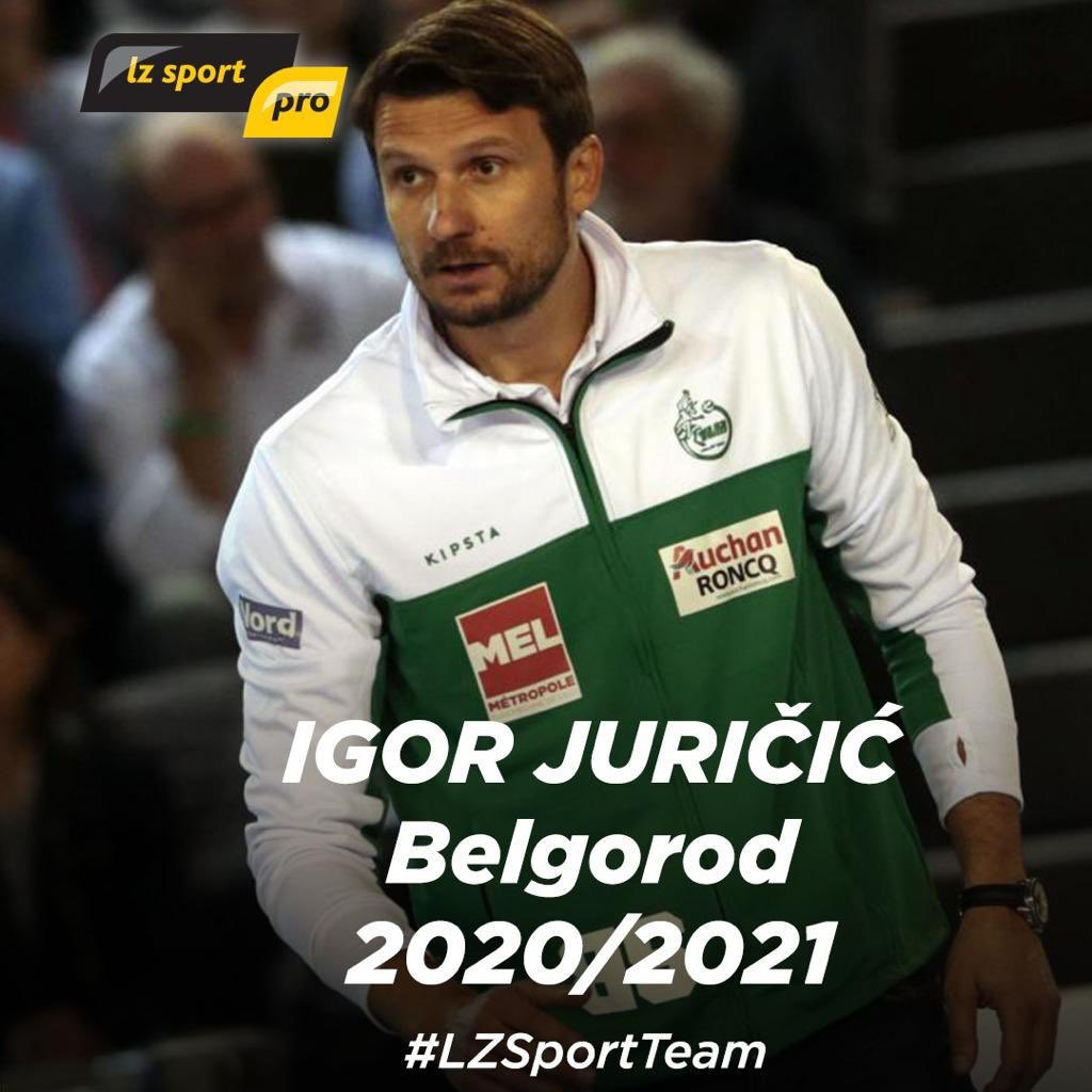 We continue to open doors for our clients : Igor Juricic, coach from Croatia moves from @TLMVolleyBall to @Belogorievolley ! Igor won French cup 2 years ago. He now signs in legendary club that has 3 CL and 8 Russian titles! Off to new challenges ! #LZSportTeam #Belgorod pic.twitter.com/SMGPxPv2Y9