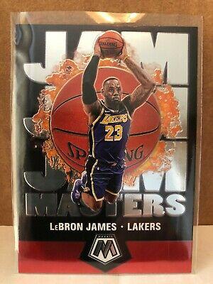 2019-20 PANINI MOSAIC BASKETBALL LEBRON JAMES JAM MASTERS INSERT LAKERS http://dlvr.it/RXC7Qd #SportsCards #BasketballCards #AffiliateLinkpic.twitter.com/EnB3L4KlfB